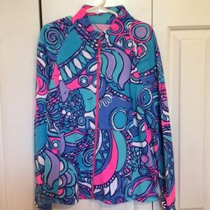 Other - Lilly Pulitzer zip up jacket